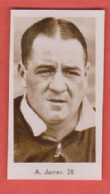 Arsenal Alex James Scotland 20